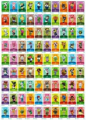 Animal Crossing Amiibo Cards Series #1 #2 #3 #4 You Pick and Choose