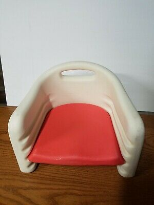 Vintage The Graduate Toddler Adjustable Height Booster Seat Chair RED