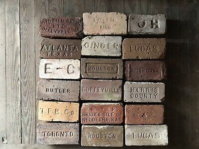Your Choice Of Any Two (2) Antique Brick