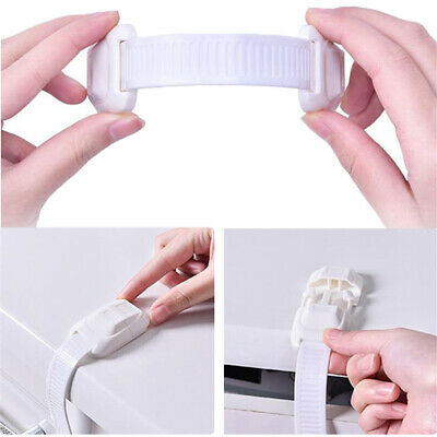 Safety Locks Children Care Lock Cabinet Cupboard Drawer Door Security Protect W6