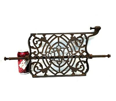 Antique DOMESTIC Treadle Sewing Machine FOOT PEDAL Cast Iron salvage