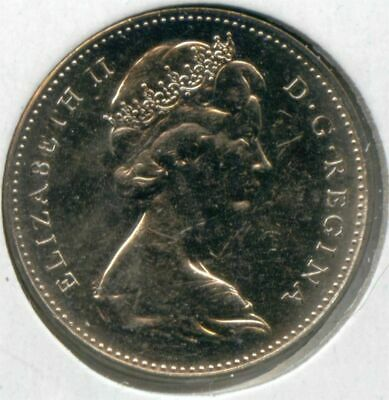 Canada 1965 Five Cent Canadian Nickel 5c EXACT COIN SHOWN