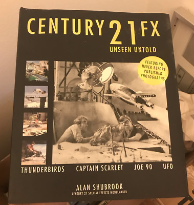 Century 21 FX Unseen Untold Alan Shubrook (Mint First Edition 2007) Brand New!