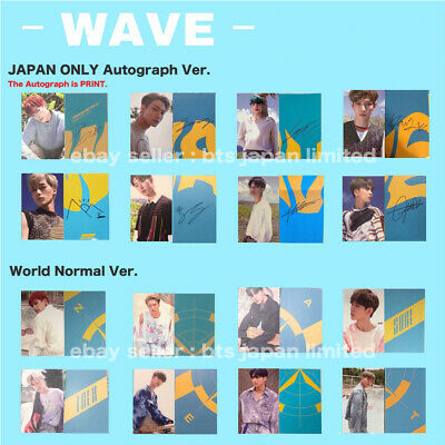 ATEEZ TREASURE EP.3 : One To All / WAVE ver. Official Photocard Photo card