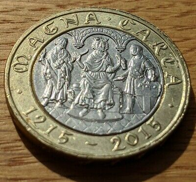 Cheapest £2 Coins Two Pound Rare Magna Carta