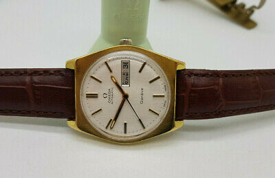 Vintage 1972 Omega Geneve Gp Silver Dial Daydate Cal:1022 Automatic Man's Watch