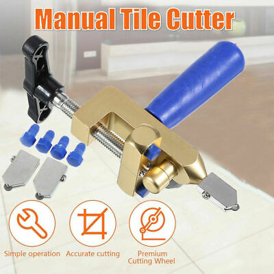 Multifunctional Easy Glide Glass Tile Cutter Ceramic Cut One-piece Alloy Tool
