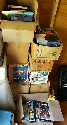Lot Of Books For Sale 12 Full Boxes