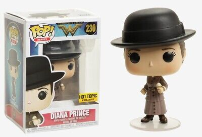 Funko Pop Diana Prince with Ice Cream HOT TOPIC Exclusive #230