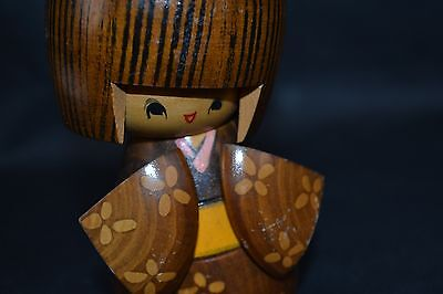 Vintage Sosaku Kokeshi Japanese Antique Wooden Doll From Japan