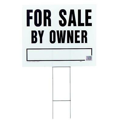 Hy-Ko  Corrugated Plastic Sign, For Sale By Owner LFS-1  - 1 Each