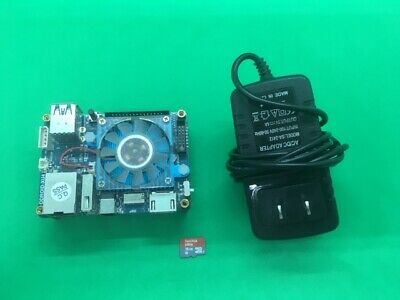 Odroid XU4 with power supply  and 8gb micro SD