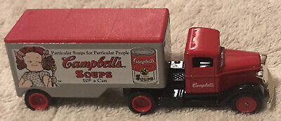 Vintage Lledo Days Gone Campbell's Soup Semi Truck And Trailer - Made In England