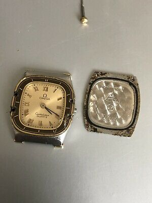 Omega Constellation Original 1450 Project Lady Steel Gold Original Used For Part