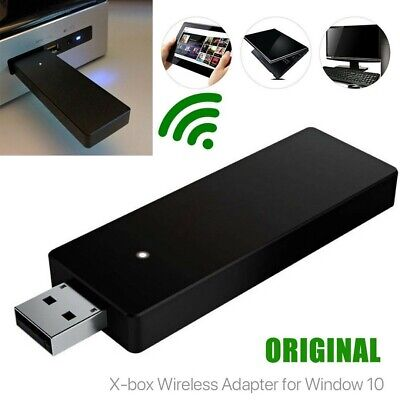 Wireless Controller Adapter Windows PC USB Receiver Stick for Microsoft XBox to