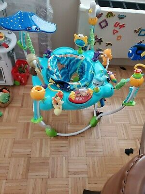 Disney Baby Finding Nemo Sea of Activities Jumper *For Local Pickup Only* NYC
