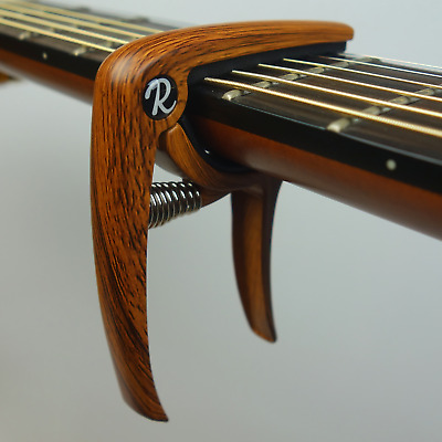 Riff Music Products Deluxe Electric/ Acoustic Guitar Trigger Capo - 4 Colours