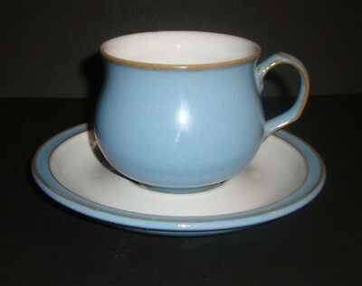 Denby - Colonial Blue - Tea Cup & Saucer (several available)
