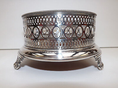 Antique Silver Plated Stand