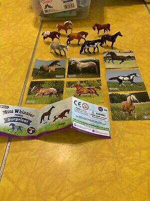 Breyer Mini Whinnies Horse Surprise Series 4  *Set of 7* No Chase