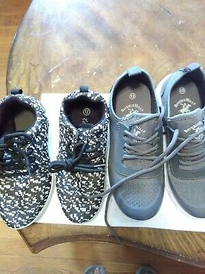 Beverly Hills Polo Club & Twisted Jr. Kids Size 13 Tennis.  Lot of Two.
