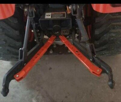 Adjustable Stabilizer Arms Brackets for Kubota BX series