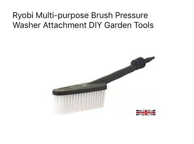 Ryobi Multi-purpose Brush Pressure Washer Attachment DIY Garden Tools