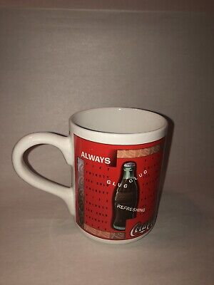 Coca-Cola Gibson Coffee Mug Preowned Nice Shape
