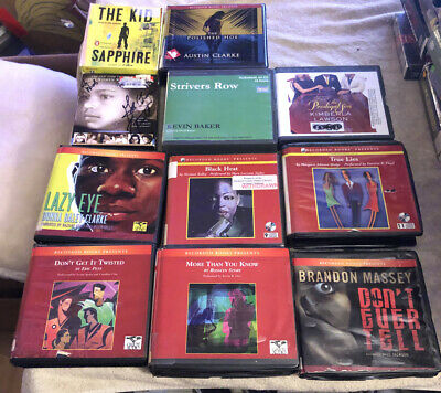 African American Authors Audio Book Cd Lot 43