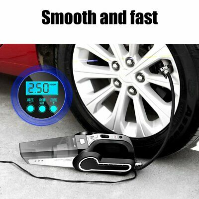 Car Vacuum Cleaner Inflatable Car Pump Powerful Small High Power Four In One CR