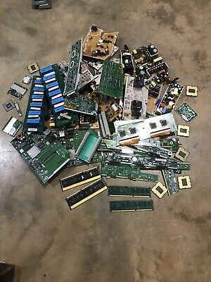 8lbs+ Of Scrap Circuit Board For Precious Metal Recovery