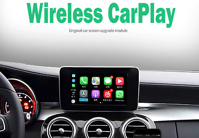 Mercedes-Wireless CarPlay & Android Auto - C (w205), E, CLA, GLA, GLC