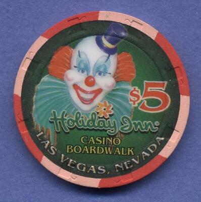 Holiday Inn Casino Boardwalk , Las Vegas, NV, $5 house chip    1995