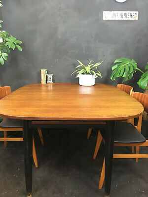 Vintage Mid Century Extending Gomme G Plan Dining Table