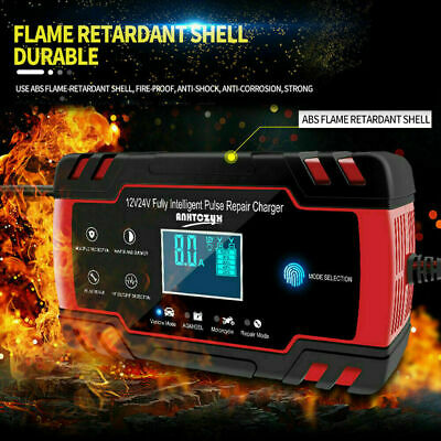 Car Jump Starter Emergency 12V/24V Power Bank Battery Charger Displays with A4O0