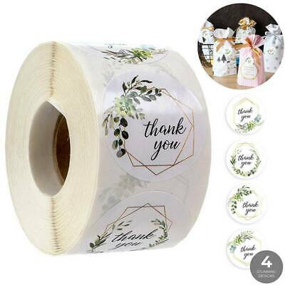 x500 Thank You Stickers For Your Purchase Business Labels Round Wedding Decor