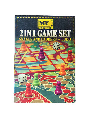 My Traditional Game 2in1 Games Set - Snakes and Ladders & Ludo Family Board Game