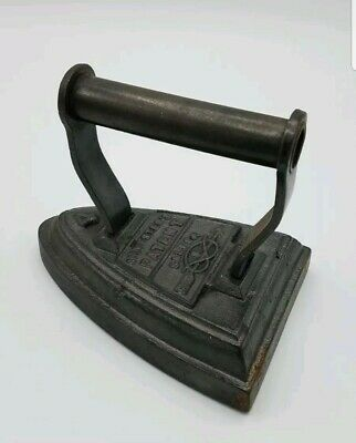 Salter no 4 flat iron cast iron door stop