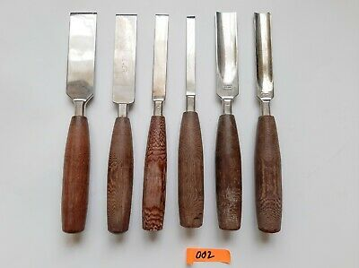 Lot Of 6 Macarthy's Surgical Bone Osteotomes & Chisels Orthopaedic Instruments