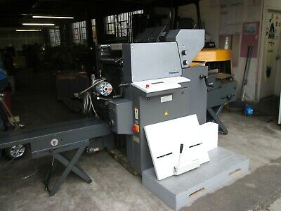 Heidelberg Print Master Qm 46 Cd 2  Color Come With Envelope Feeder And Conveyor