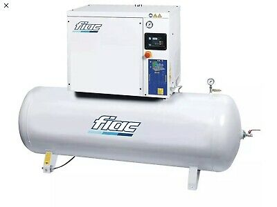 Fiac Rotary Screw Air Compressor 10HP 270 Litre 400V