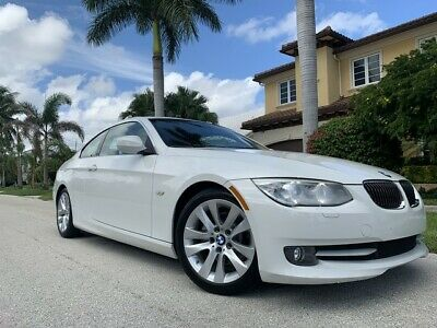 2012 BMW 3-Series  Only 31k Miles White on Red w/ SunRoof!!!!