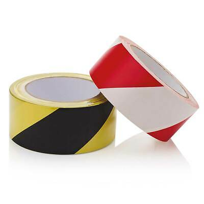Self Adhesive Hazard Warning Tape Black And Yellow / White & Red
