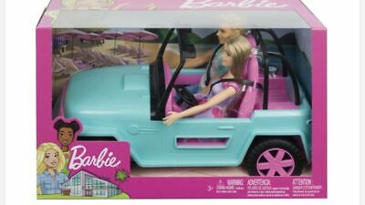 Barbie and Ken Doll Blue Jeep Vehicle Car RARE Brand New Boxed!