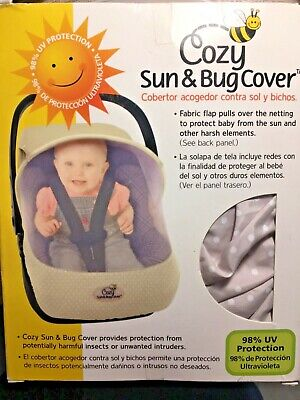 Cozy Sun & Bug Cover Tan/Beige with polka dots