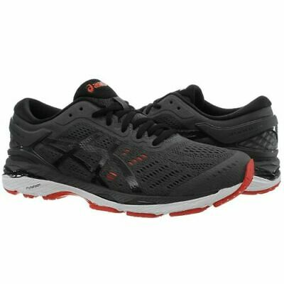 ASICS Gel-Kayano 24 Men's Running Shoes (Size 8) Grey Black Red T749N 9560