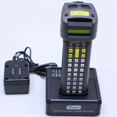 Videx LaserLite Pro/MX with Base Station and Power Cable.  Tested Fully Working.