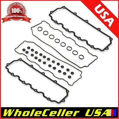 3C3Z-9439-AA Intake Manifold Gasket Set for 03-10 Ford E-350 F-250 F-350 Super Duty Series Ford Excursion 6.0L 6.4L Powerstroke Diesel
