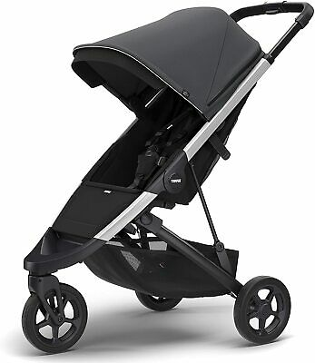 Thule Spring Stroller, Shadow Grey - NEW! [Store Display Model - See Photos]