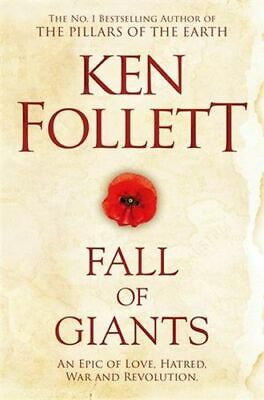 NEW Fall of Giants By Ken Follett Paperback Free Shipping